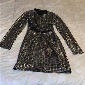 Zara sparkly dress